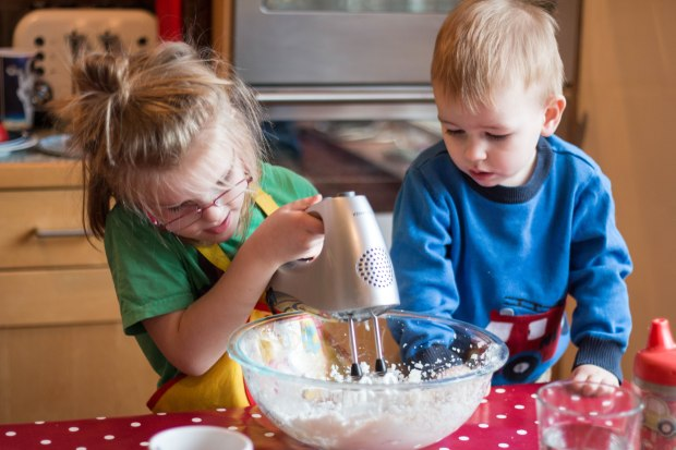 Kid's cooking will happen, just not at meal time.
